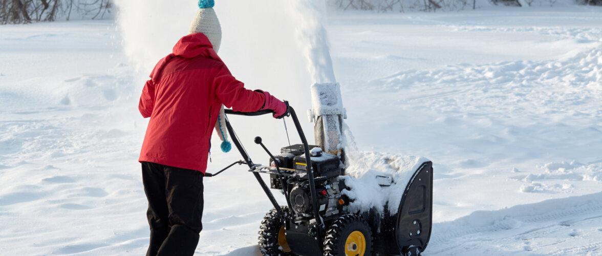 Lumepuhurite funktsioonid ja hinnad erinevad kümneid kordi. Mida lumeluua valikul oluliseks pidada?
