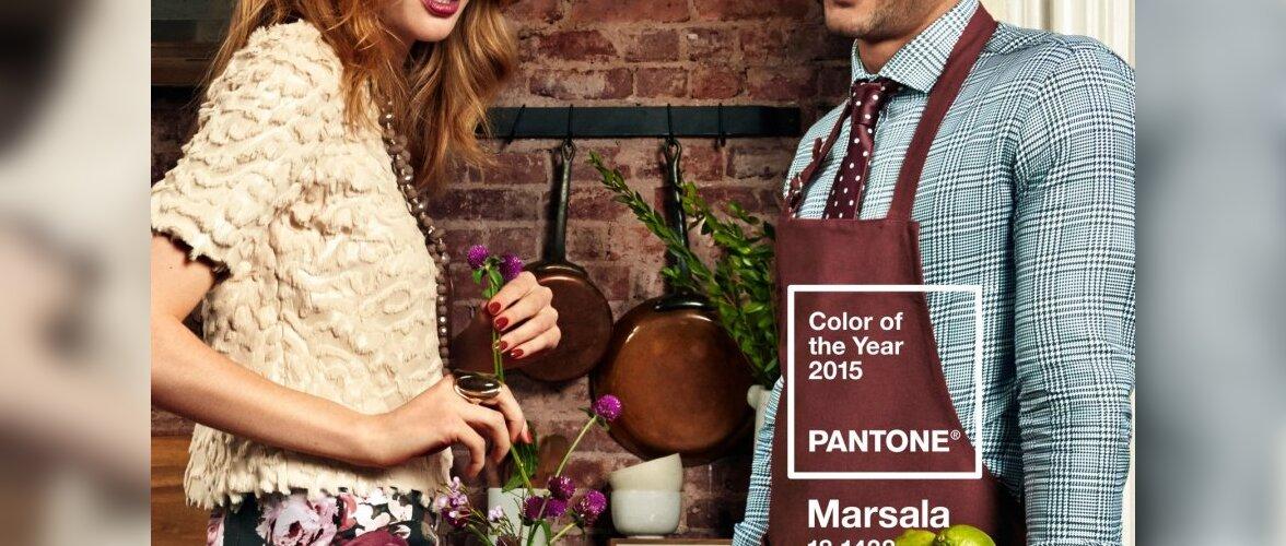 Aasta värv 2015 on marsala ehk sügav veinipunane