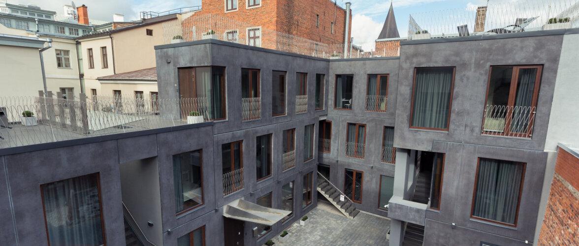 Modernse lahendusega Konrad rikastab Tartu vanalinna arhitektuuri