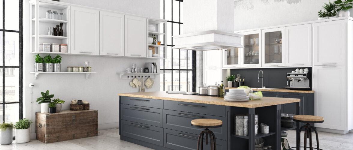 Kümme põhilist viga, mida kööki kujundades tegema kiputakse