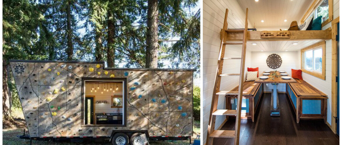 Uskumatult sisustatud 20 ruutmeetrit — kolm tuba, söögilaud kuuele ja mägironimissein