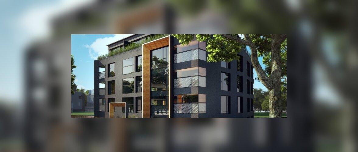 Compakt Kinnisvara ehitab Kristiinesse kolm uut kortermaja