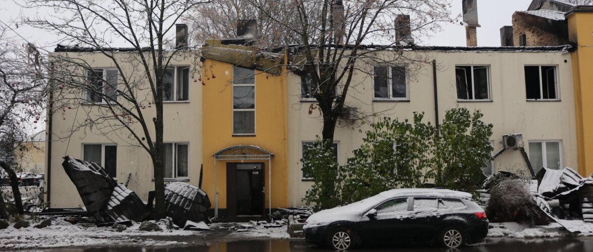 Põlengus kannatada saanud korteri või trepikoja remont nõuab rohkelt aega ja raha