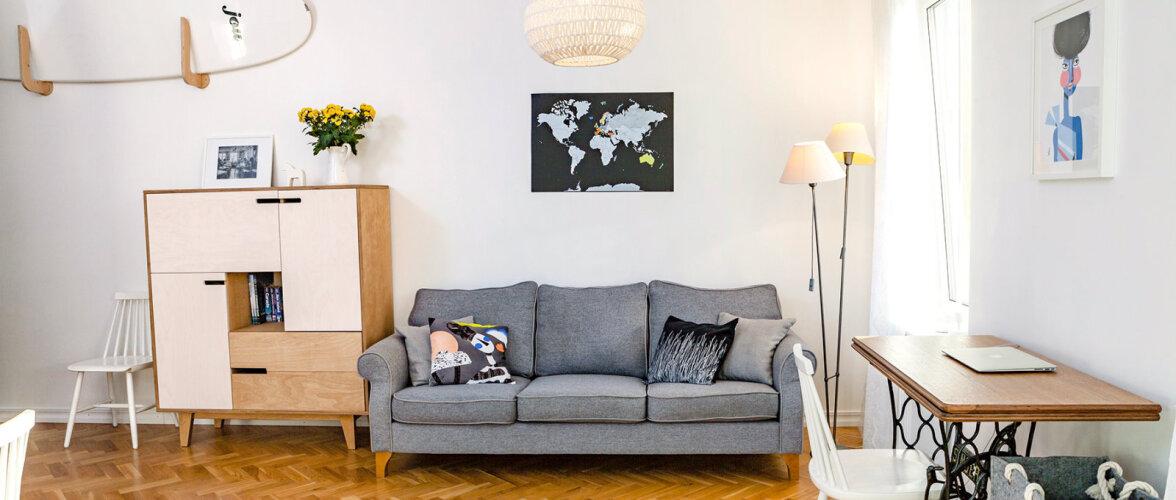 Eesti disaini täis kodu Kalamajas