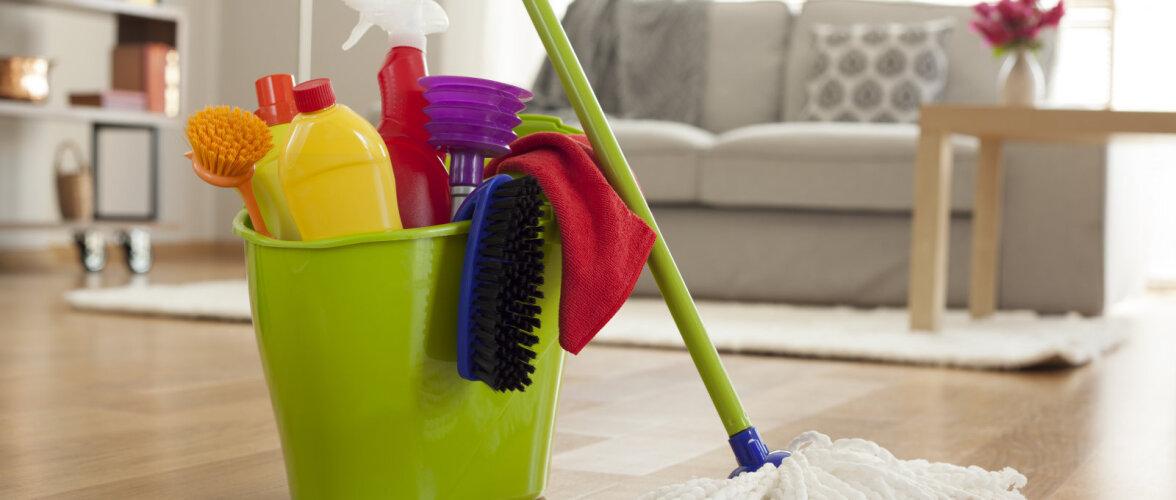 Viis suuremat viga, mida kodu koristades tegema kiputakse