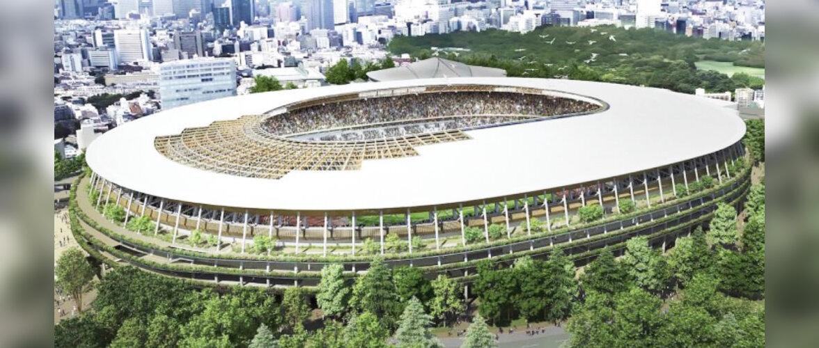 Troopilise puidu kasutamine Tokyo olümpiastaadioni ehitamisel on põhjustanud skandaali