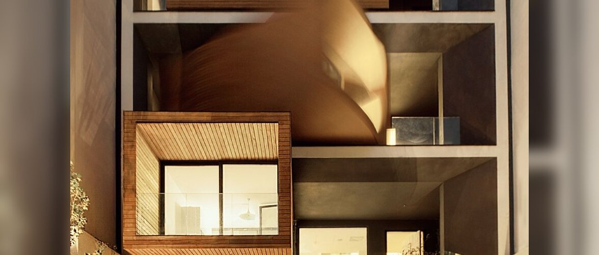 Unikaalne maja, mis pöörab aknad päikese poole