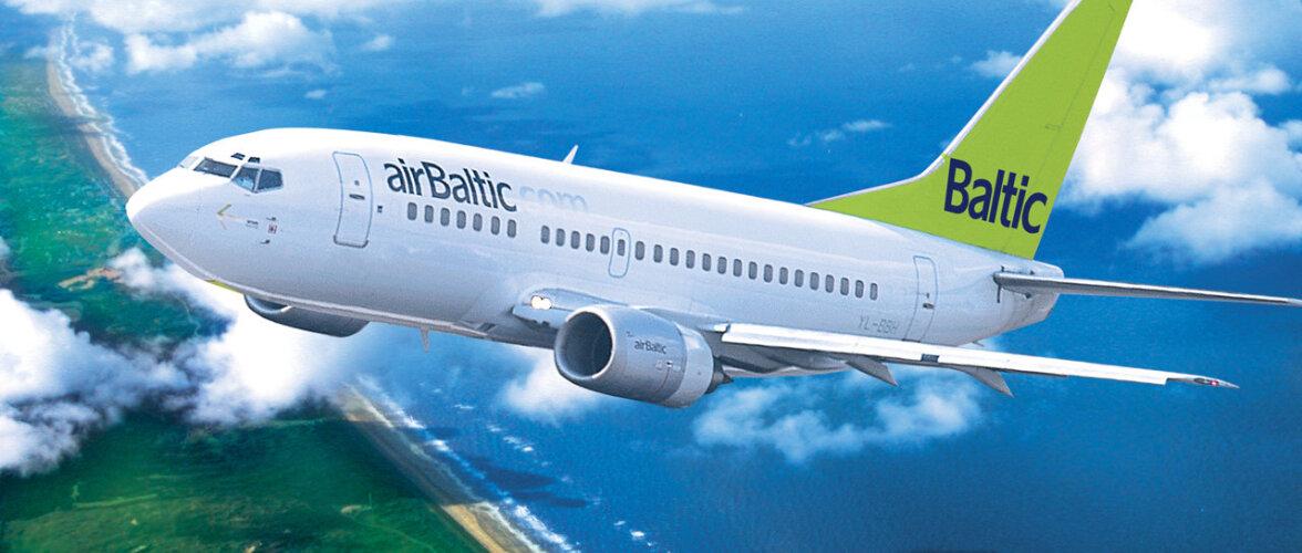 В 2017 году услугами airBaltic в Эстонии воспользовалось более 360 000 путешественников