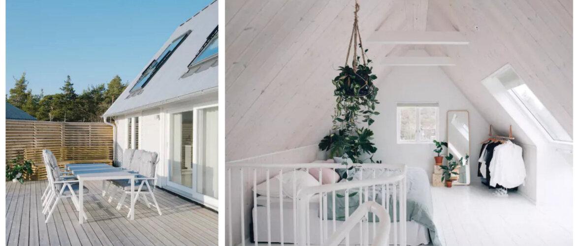 FOTOD | Valgusega täidetud suvekodu Gotlandil