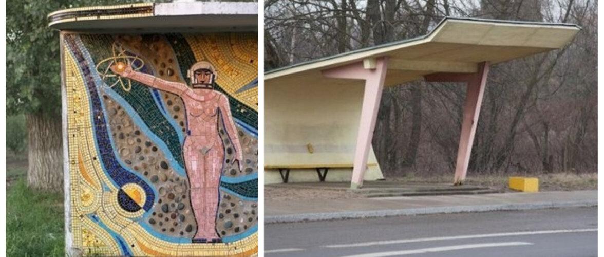 FOTOD | Vaata pilte põneva arhitektuuriga nõukogudeaegsetest bussipeatustest