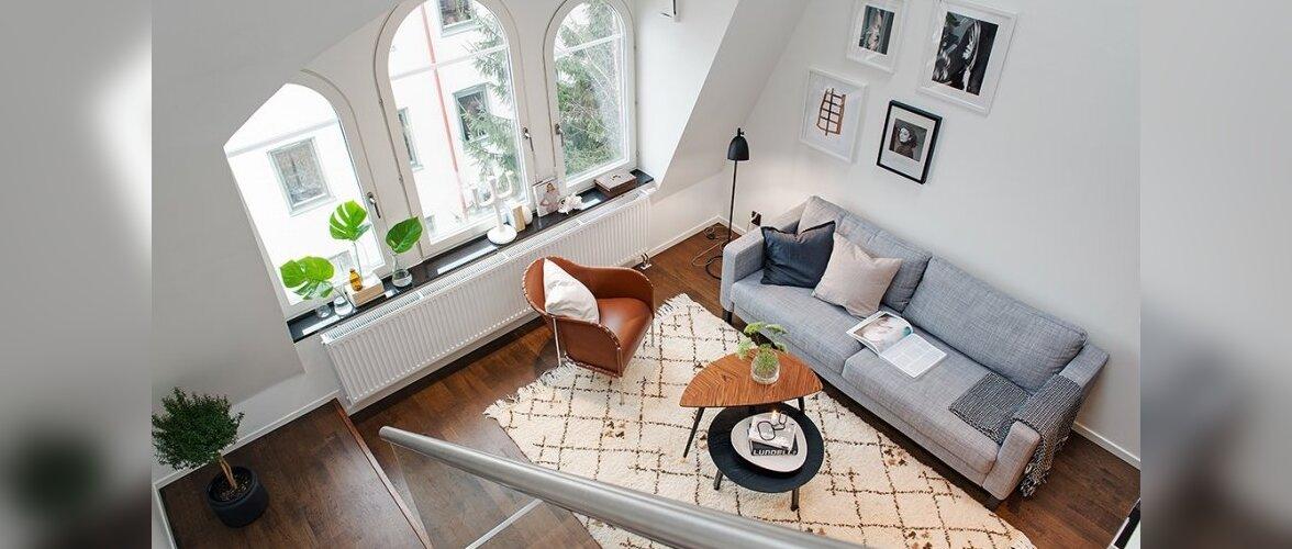 Sarmikas väike kodu kahel korrusel