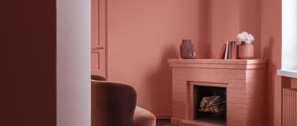 Tikkurila aasta värv on särtsakas flamingoroosa — vaata ideid!