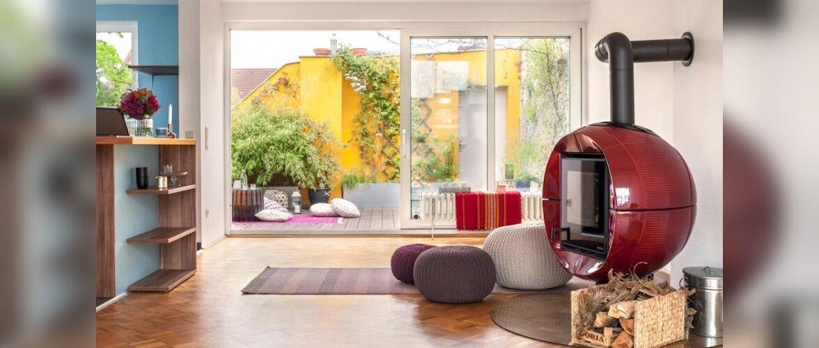 Värvilise terrassiga värviline pööningukorter