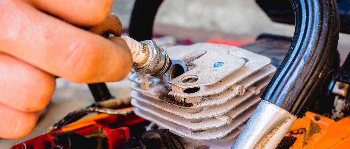 Milliseid mootorsae detaile tuleb hooldada ja kuidas seda teha?
