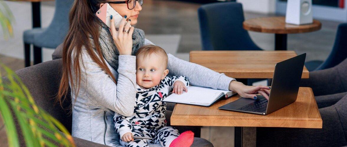 Kas väikese lapse vanemana tööl käies on üldse võimalik normaalseks inimeseks jääda?