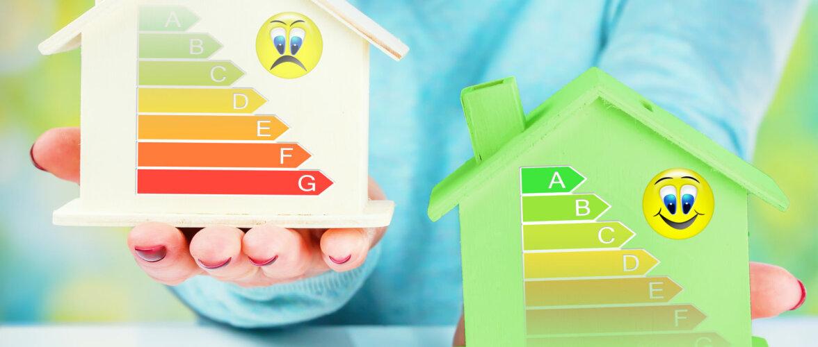Energiasäästlike majade vastu on huvi tagasihoidlik: <strong>4 aastaga vaid 391 A-energiaklassi märgist</strong>