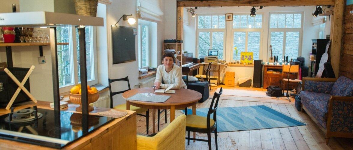 Sandra Sillamaa ja tema kodu