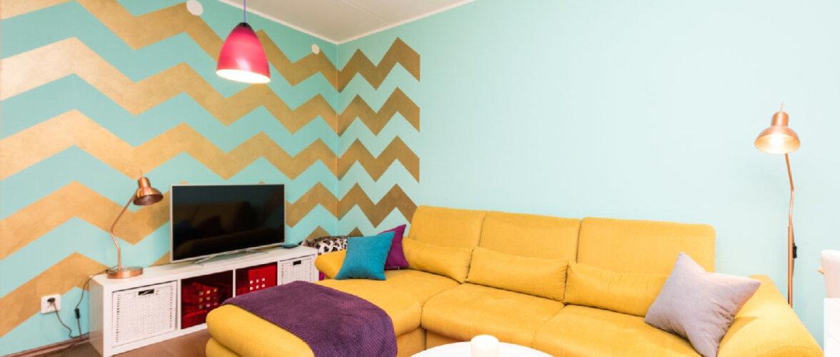 Tõeliselt värvikas kodu Lasnamäe korterelamus