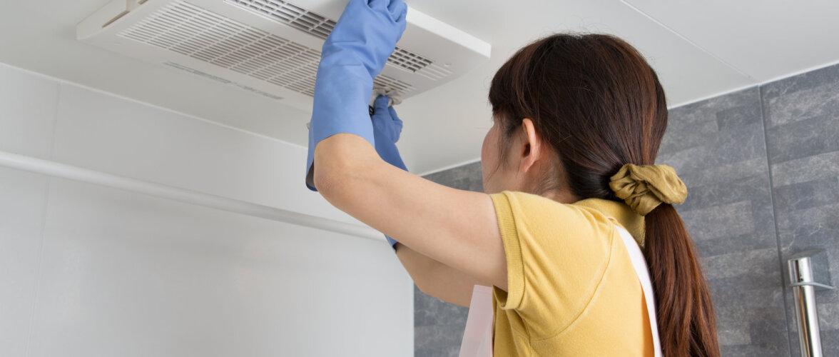 Vannitoa ventilatsiooni ohtlikud vead. Kas tead, mis aja jooksul peab kondensaat vannitoast kaduma?