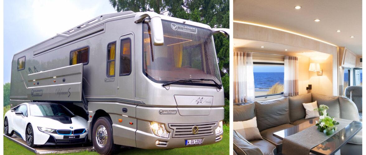 FOTOD | Uudista üle miljoni euro maksva luksusbussi kodust interjööri