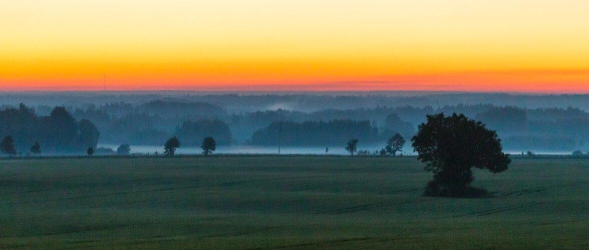 Jaaniöö päikesetõus 2017