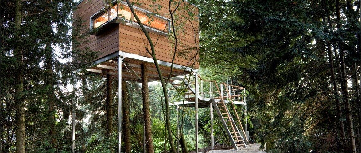 FOTOD: Vaata, millise modernse maja saab ehitada puu otsa