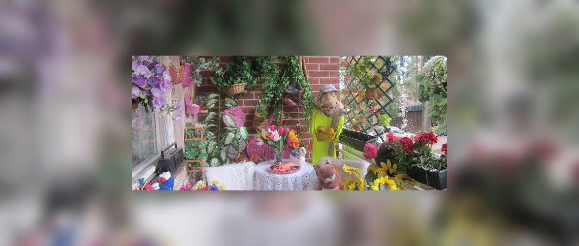 Fotovõistlus Minu kodu suvel Nataly ruumikas rõdu