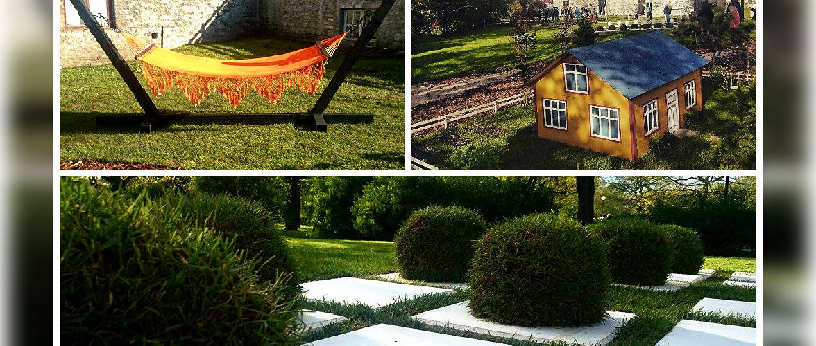 Kaunid aiakujundused Tallinna lillefestivalil panevad fantaasia tööle