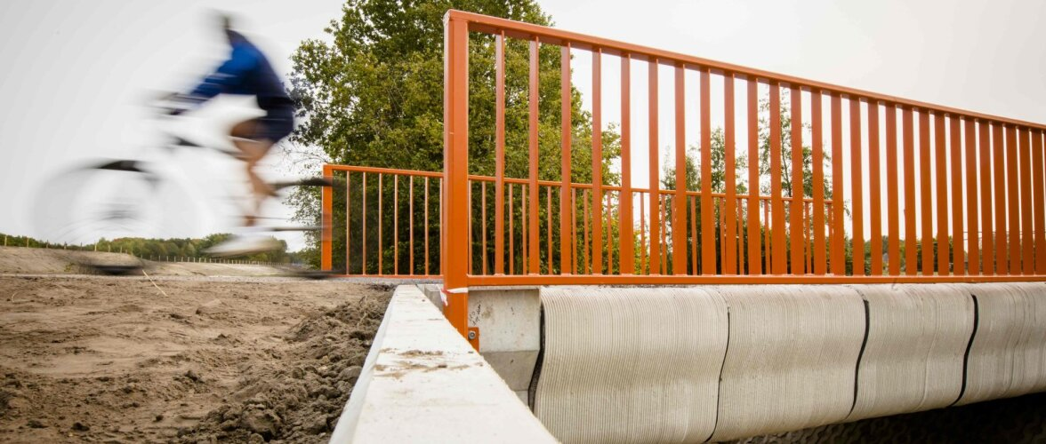 SILD PRINTERIST | Valmis maailma esimene betoonist 3D-prinditud sild
