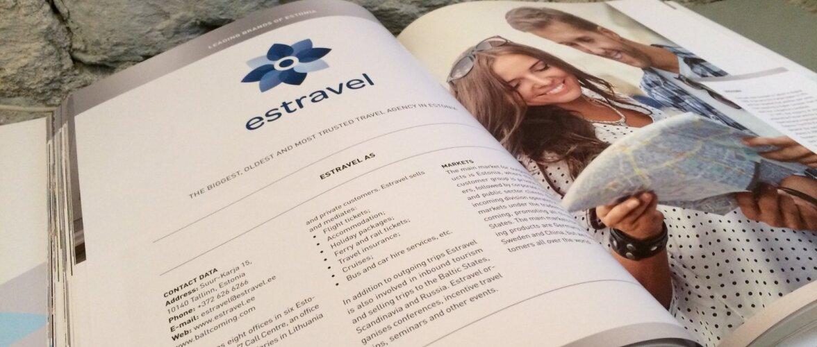 Крупнейшему туристическому бюро в Эстонии Estravel исполняется 30 лет