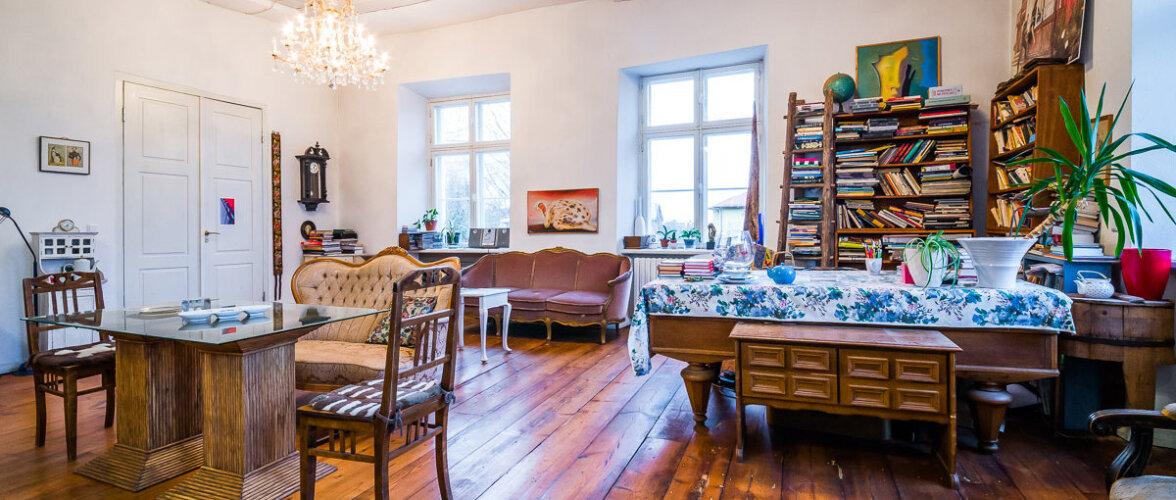 Värvikas kodu Tartu vanimas elumajas