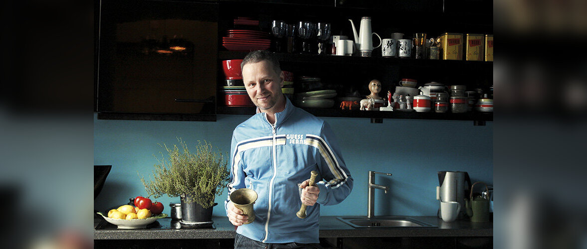 Fotograaf Toomas Volkmanni üks lemmikuid köögis on uhmer