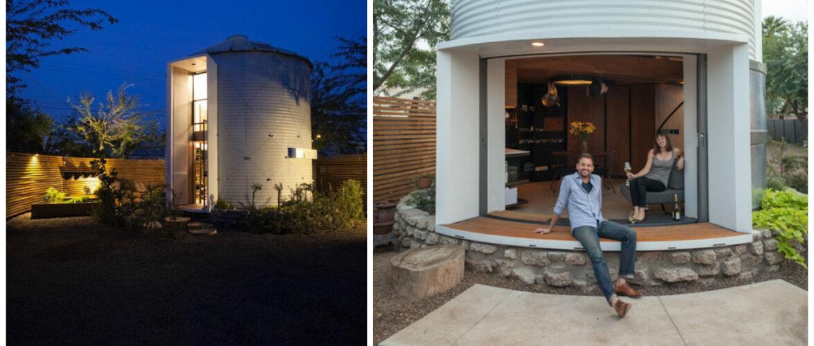 Viljahoidlasse rajatud kodu — Silo House