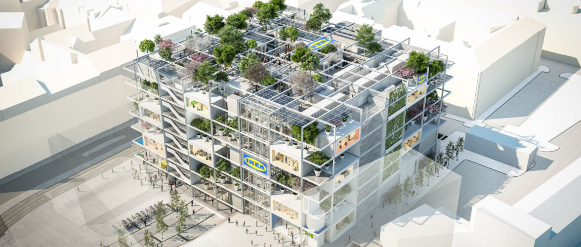 IKEA avab uue ja rohelise sisustuspoe, mille juurde autoga ei pääse