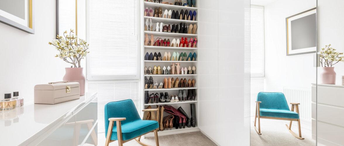 Kuidas hoiustada jalanõusid? 15 lahedat ideed!
