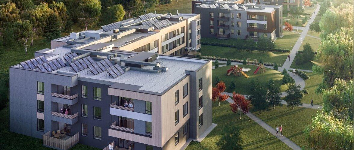 Sauele kerkib esimene A-energiaklassi kortermaja