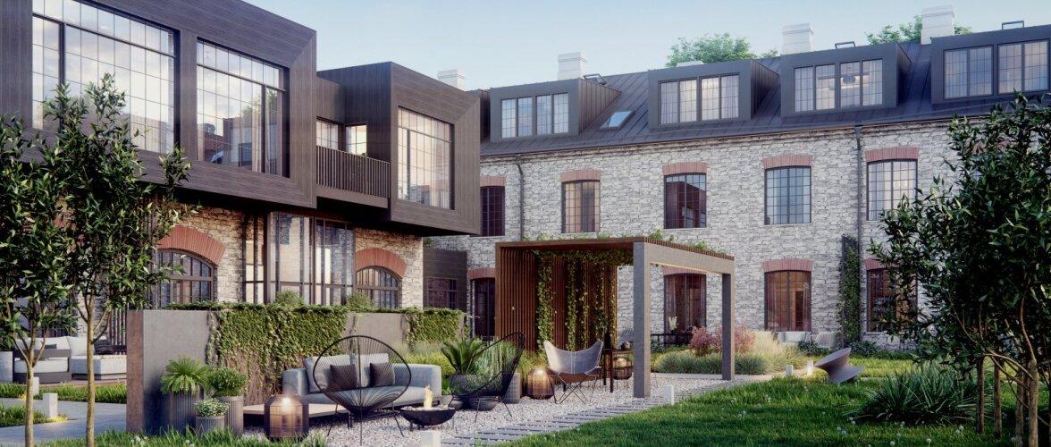 Kolm ajalooga maja, mis sündisid ümber moodsa uusarendusena