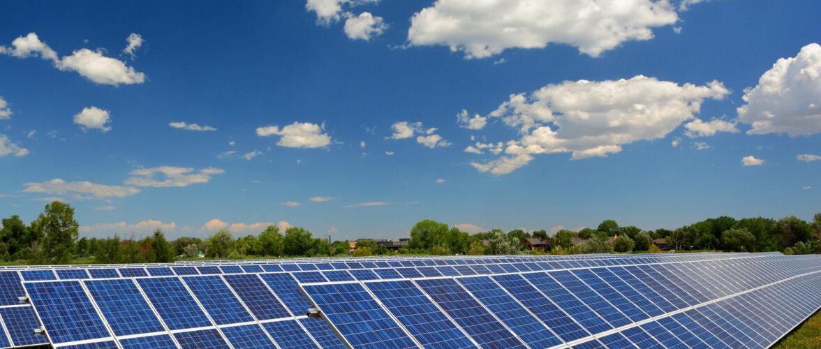 Suuri ja väikesi päikesejaamu tuleb üha juurde. Suuremad päikesejaamad tasuvad end ära vähem kui 10 aastaga