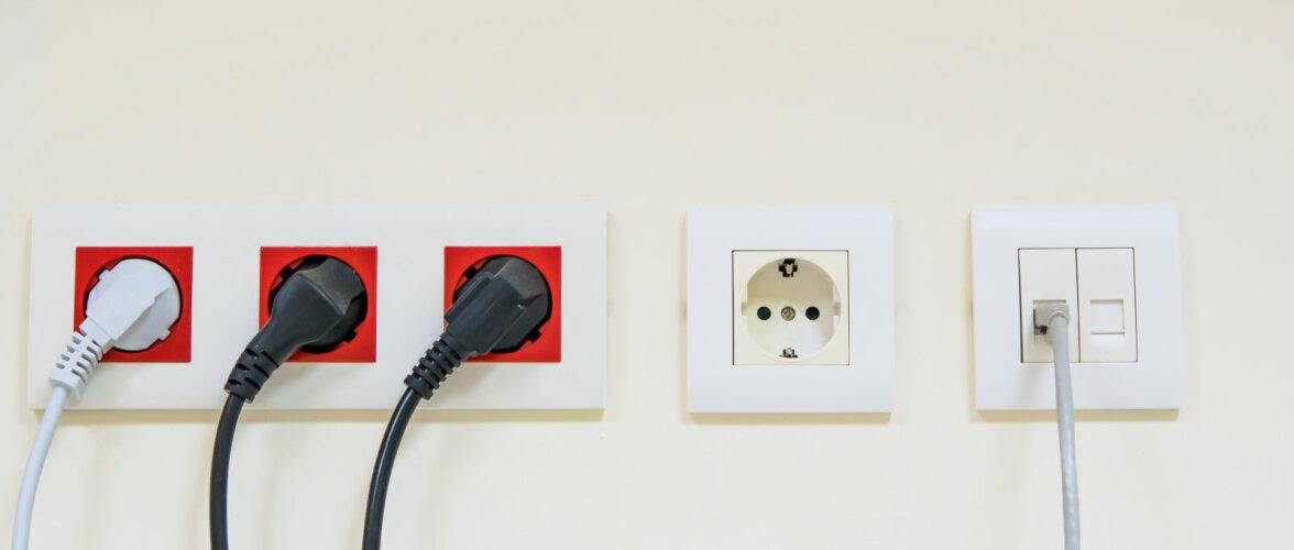 Kui palju lüliteid ja pistikupesi peaks kodus olema, et oleks piisav?