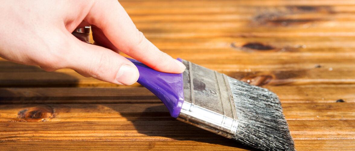 Ettevaatust põranda õlitamisel! Linaõlil on oht kergelt süttida
