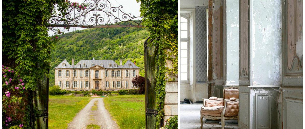 Vaata, kuidas restaureeritakse hingematvalt kaunist lossi Prantsusmaa külas