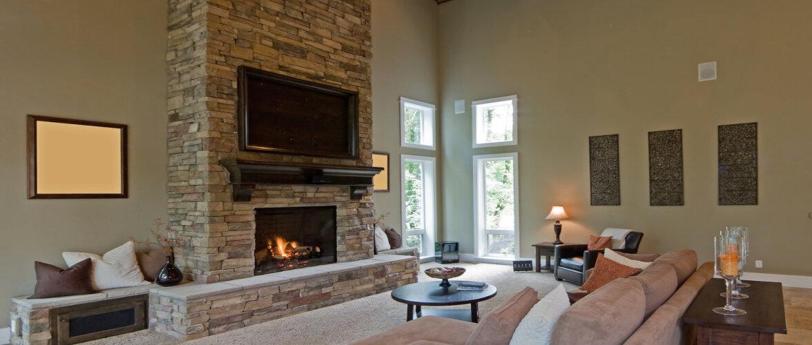 Kui võimast kaminat läheb tarvis, et keskmine maja ära kütta? Leia erinevatest kaminatüüpidest endale sobilik