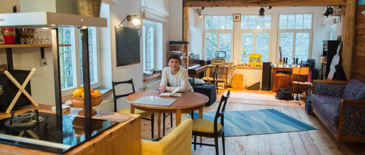 Torupillimängija Sandra Sillamaa kodus: Pesa, mis pakub igal sammul põnevaid üllatusi
