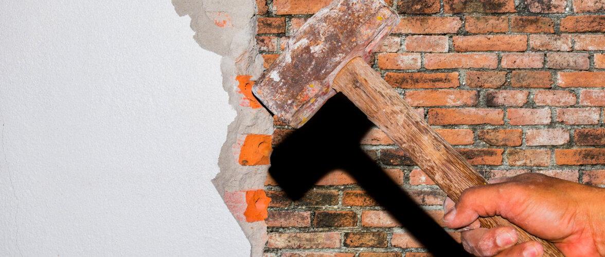 Vead, mille vastu eksitakse maja remonditööde tegemisel. Korralda asjad nii, et juba tehtud tööd ei peaks lammutama