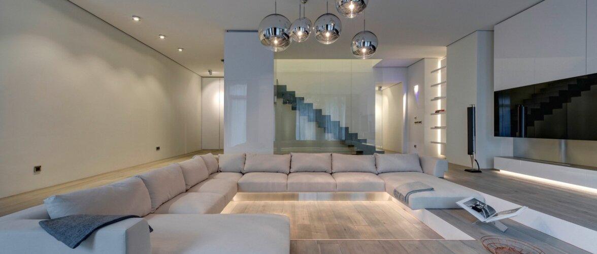 311 ruutmeetrit luksuslikku minimalismi