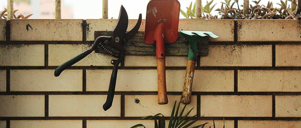 Hobiaedniku tööriistad — millised töövahendid teevad aiatööd kevadel lihtsamaks?