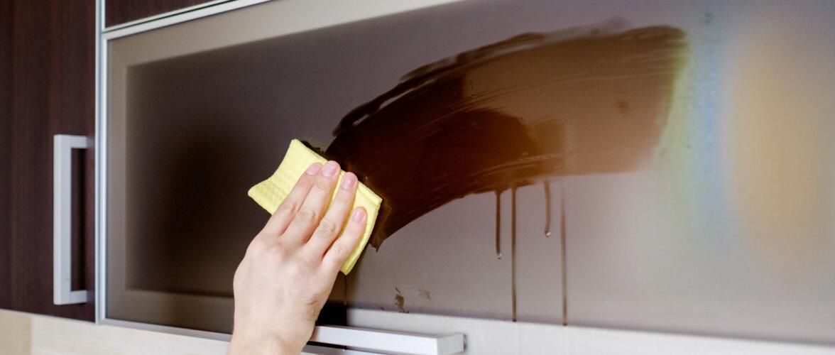 Kuidas puhastada erinevatest materjalidest vannitoa ja köögi mööblit? Vahendid, mida kindlasti kasutada ei tohi