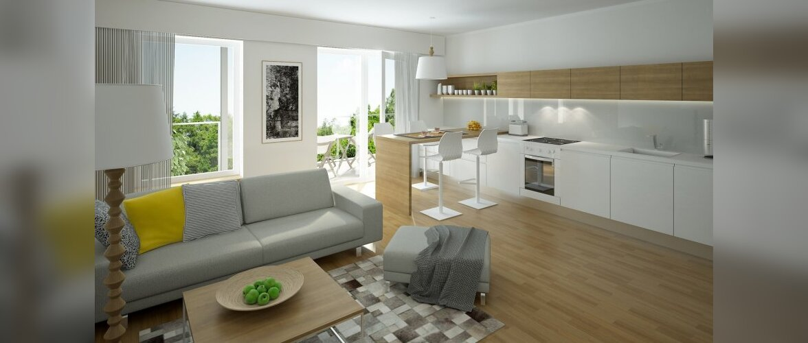 Stiilselt lahendatud valmis kodud — Tondi elukvartal
