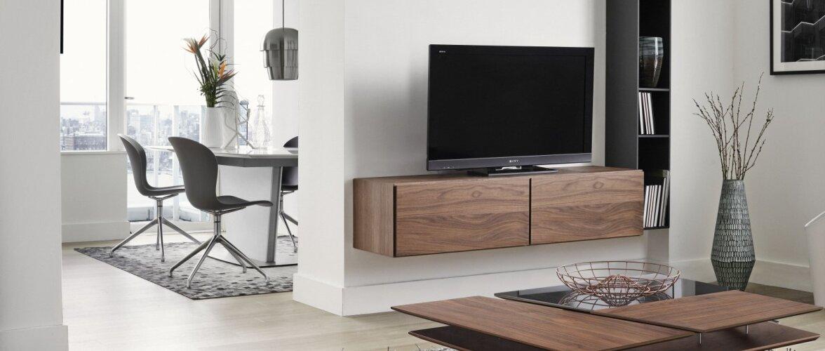 Kuhu paigutada ruumis televiisor?