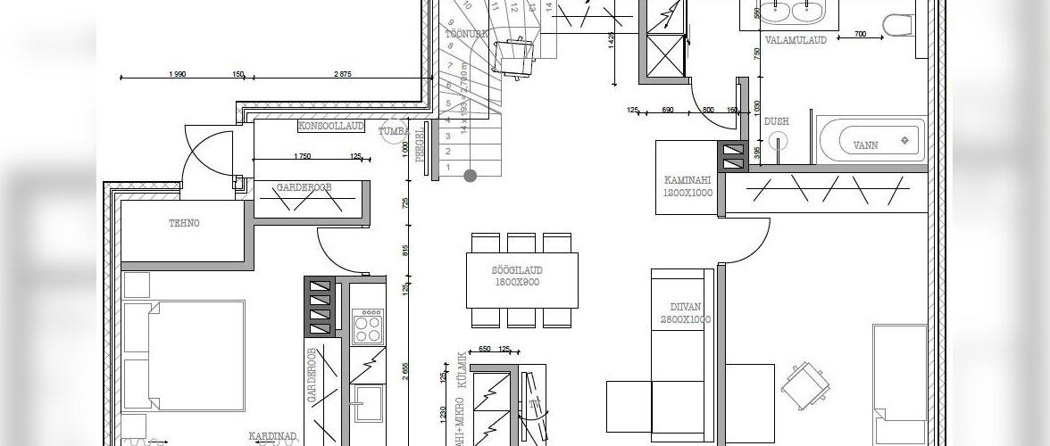 KODU KOLLASES MAJAS: Milline näeb tulevane kodu välja plaanil